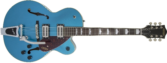 Gretsch G2420T Streamliner with Bigsby Riviera Blue Guitar (In Stock)