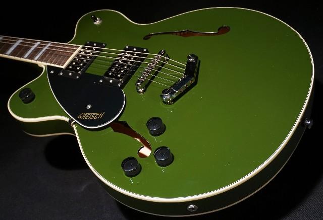 Gretsch G2622LH Streamliner Center Block V-Stoptail Left-Handed Torino Green Guitar