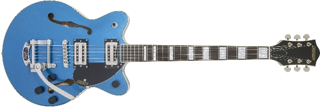 Gretsch G2655T Streamliner Center Block Jr. with Bigsby Fairlane Blue Guitar