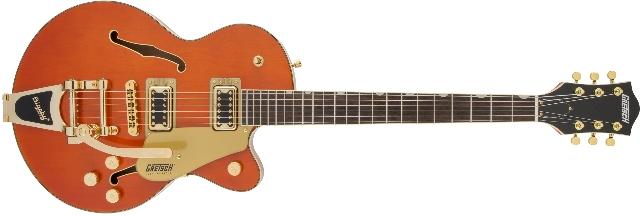 Gretsch G5655TG Electromatic CB Jr. Orange Stain Guitar (In Stock)