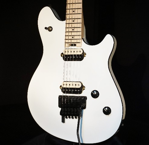 EVH Wolfgang Special Maple Fingerboard Polar White Guitar