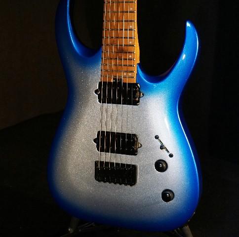 jackson pro series signature misha mansoor juggernaut ht7 blue sky burst guitar streetsoundsnyc. Black Bedroom Furniture Sets. Home Design Ideas