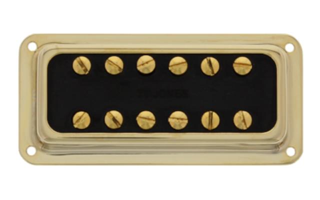 Tv Jones Classic DeArmond Mount Gold Neck Pickup (FTN-DAGLD)