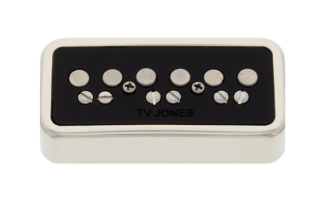 Tv Jones Classic T-Series NE Mount Nickel Neck Pickup (TAN-NENKL)