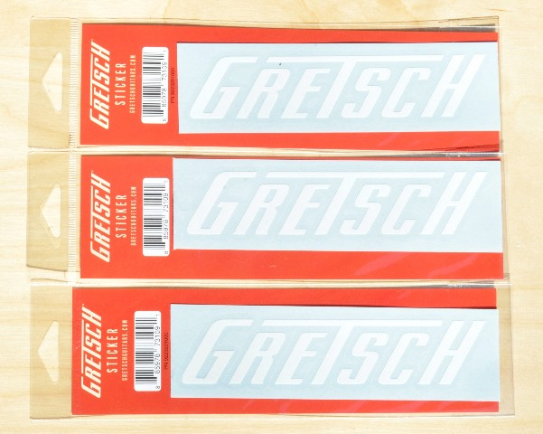 Gretsch Die Cut Window Sticker (Quantity 3) PN: 9223201000