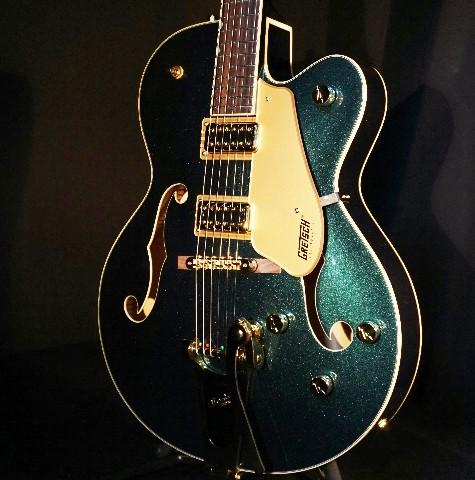 Gretsch G5420TG Cadillac Green Metallic Electromatic Guitar W/Gold Hardware