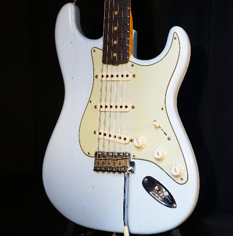 Fender Limited Edition Custom Shop '59 Special Journeyman Relic Faded Sonic Blue