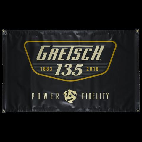 Gretsch 135Th Anniversary Banner 3'x5' Vinyl 922-846-7135