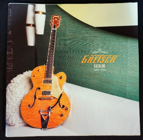 Gretsch 2015 Guitar And Product  Catalog  (Nos)