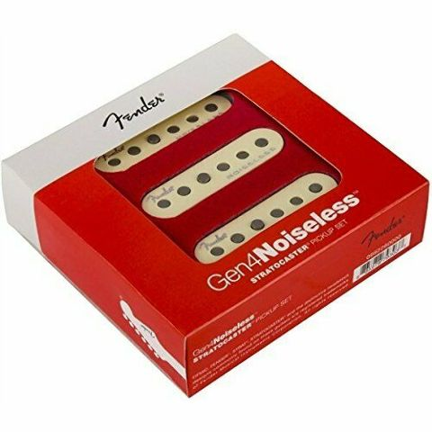 Genuine Fender GEN 4 Noiseless Stratocaster Guitar Pickup Set PN: 0992260000