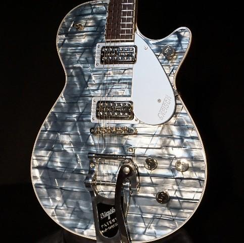 Gretsch G6129T-PE Players Edition Light Blue Pearl Jet Guitar Mint