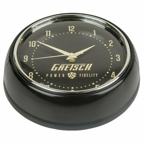 Gretsch Retro Power & Fidelity Wall Clock 922-846-3000