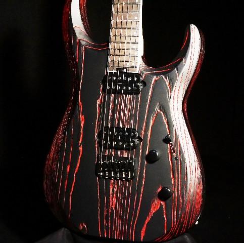 Jackson Pro DK Dinky Modern Ash HT6 Baked Red Guitar