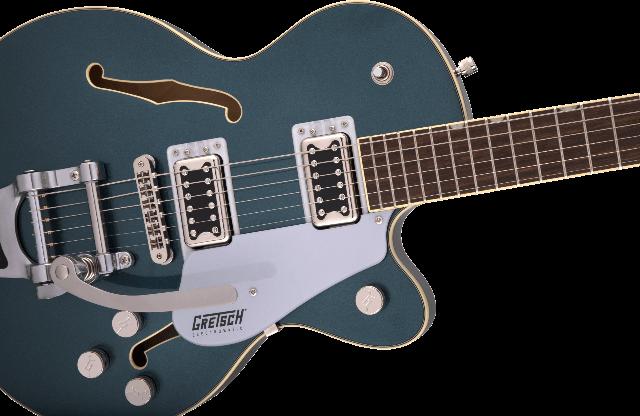 Gretsch G5655T Electromatic CB Jr. Jade Grey Metallic Guitar