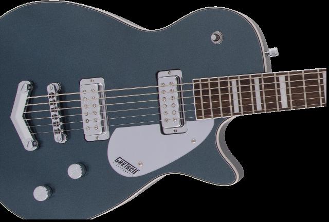 Gretsch G5260 Electromatic Jet Baritone Guitar Jade Grey Metallic
