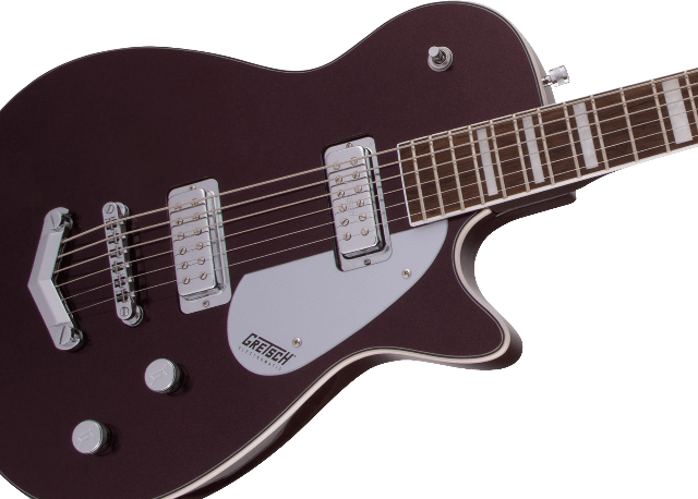 Gretsch G5260 Electromatic Jet Baritone Guitar Dark Cherry Metallic