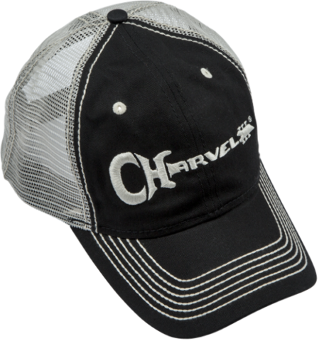 Charvel Trucker Cap Hat Black