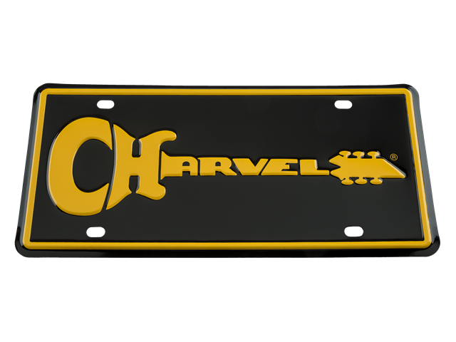 Charvel Logo Metal License Plate