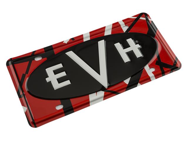 EVH Logo Metal License Plate