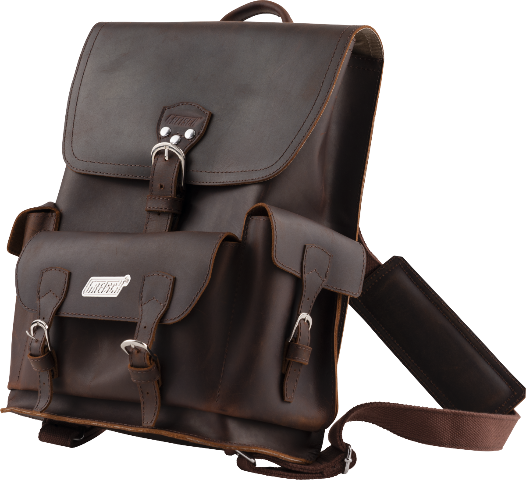 Authentic Gretsch Leather BackPack Brown Lmt Ed 922-4527-100