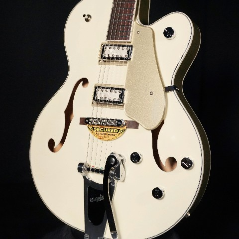 Gretsch G5410T LMT Ed Tri-Five Electromatic Two Tone Vintage White/Casino Gold Guitar