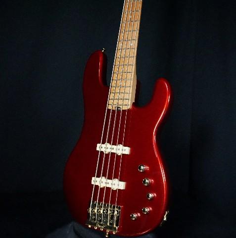 Charvel Pro Mod San Dimas SD JJV Candy Apple Red Bass Guitar