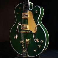 Gretsch G6196T Country Club Cadillac Green Guitar W/Hardshell Case