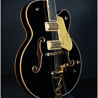 Gretsch G6136TBK Black Falcon Player Edition Guitar W/Hardshell