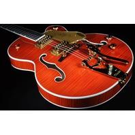 Gretsch G6120SSL NV  Lacquer Brian Setzer Nashville Electric  Guitar  Orange Flame