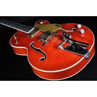 Gretsch G6120SSL NV  Lacquer Brian Setzer Nashville Electric  Guitar  Orange Flame