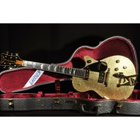 Gretsch USA Custom Shop Gold Sparkle Top Penguin G6134CS Mint