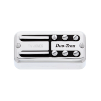 TV Jones Paul Yandell Duo Tron Universal Mount Chrome Bridge Pickup