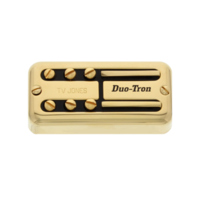 Tv Jones Paul Yandell Duo Tron Universal Mount Gold Neck Pickup