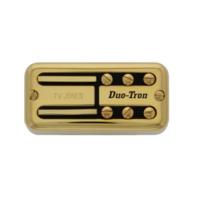 Tv Jones Paul Yandell Duo Tron Universal Mount Gold Bridge Pickup