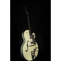 Gretsch G6118T-SGR 2 Tone Smoke Green Hollow Body Anniversary Guitar Players Edition