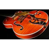 Gretsch G6120T-FM Players Edition Nashville Flamed Top Guitar Mint 2017