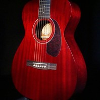 Guild M-120 Cherry Red  Acoustic Guitar W/Case Westerly Edition