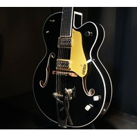 Gretsch G6120SSU NV Black Brian Setzer Nashville Guitar W/Hardshell
