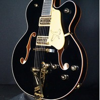 Gretsch G6136T-BLK Players Edition Black Falcon Mint Hardshell Included 2019