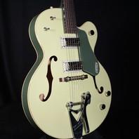 Gretsch G6118T-60VS Vintage Select Anniversary 2-Tone Smoke Green Guitar W/Bigsby