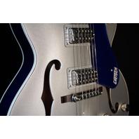 Gretsch G6118T-ISV Anniversary Iridium Silver Azure Metallic Guitar Players Edition