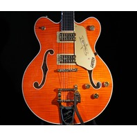 Gretsch G6620TFM Players Edition Center Block Orange Flame Guitar Mint