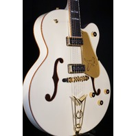 Gretsch  G6136-55VS White Falcon Vintage Select W/Cadillac Tailpiece Mint 2018