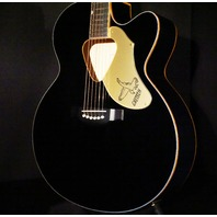 Gretsch G5022CBFE Black Jumbo Rancher Falcon Acoustic Electric Guitar