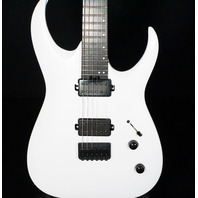 Jackson Pro Series Misha Mansoor Juggernaut HT6 Satin White Guitar Mint