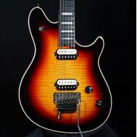 EVH USA Wolfgang 5A Flame 3-Tone Burst Guitar (Actual Guitar)