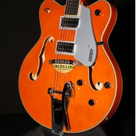 Gretsch G5422T Orange Electromatic Double Cutaway Guitar Hardshell Included