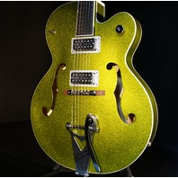 Gretsch G6120SH Green Sparkle Brian Setzer Hot Rod New Edition Mint 2018