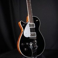 Gretsch G6128TLH PE Lefty Players Edition Duo Jet Black Electric Guitar Brand New