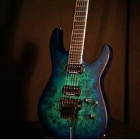 Jackson Pro Soloist SL2P Aqua Shock Electric Guitar
